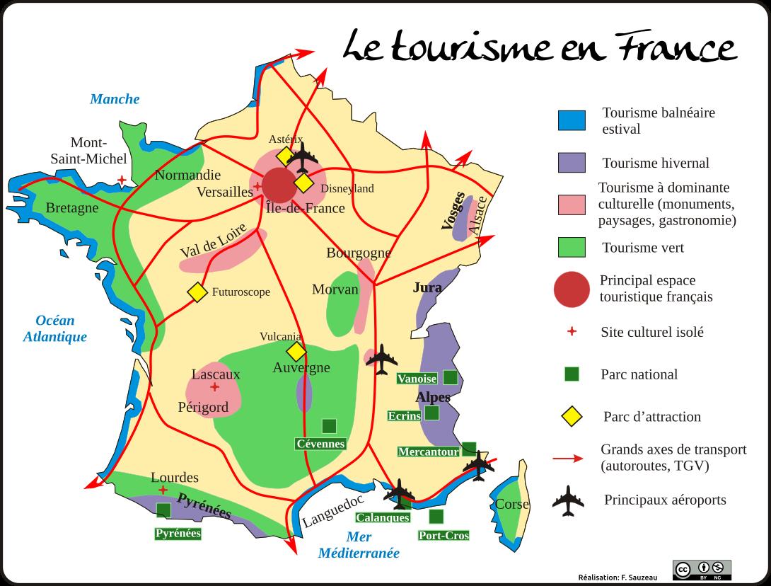 carte-france-touristiques