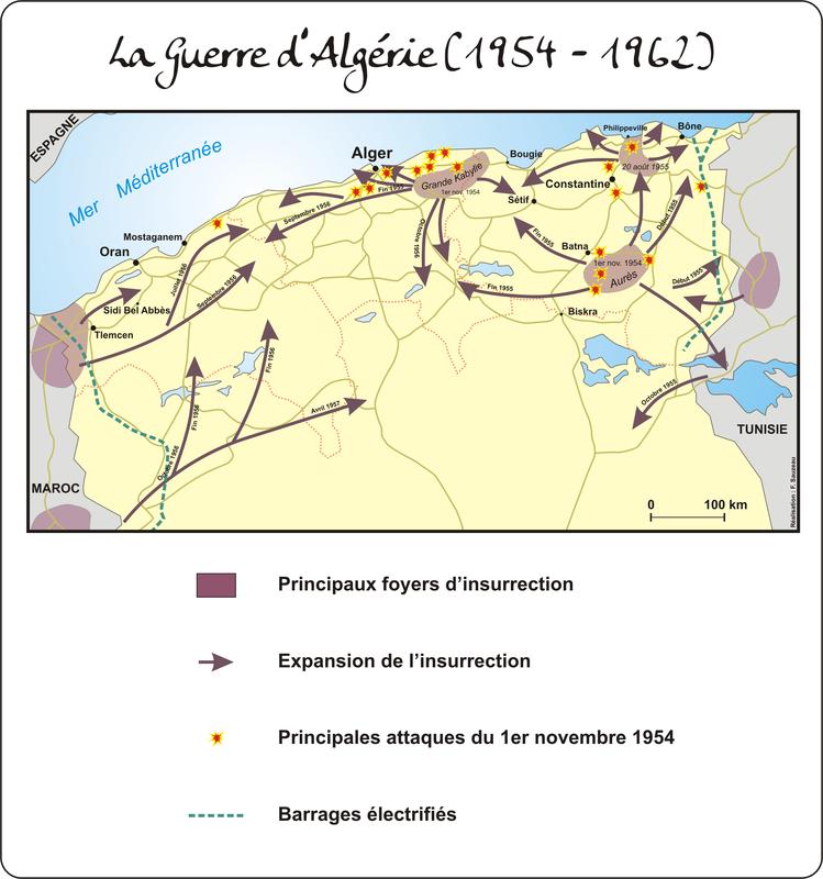 La guerre d'Algérie (1954 - 1962)