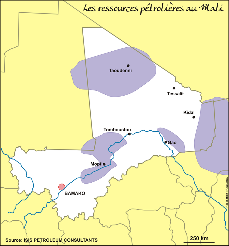 Les ressources pétrolières au Mali