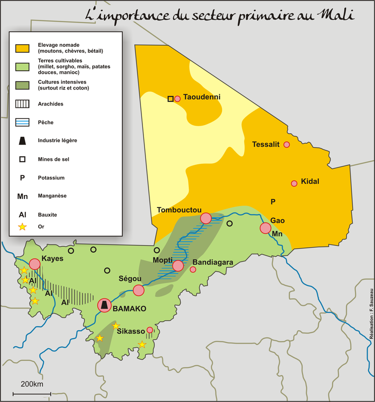 Le secteur primaire au Mali