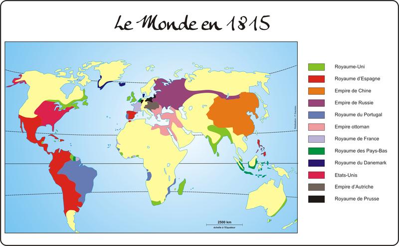 le Monde en 18155