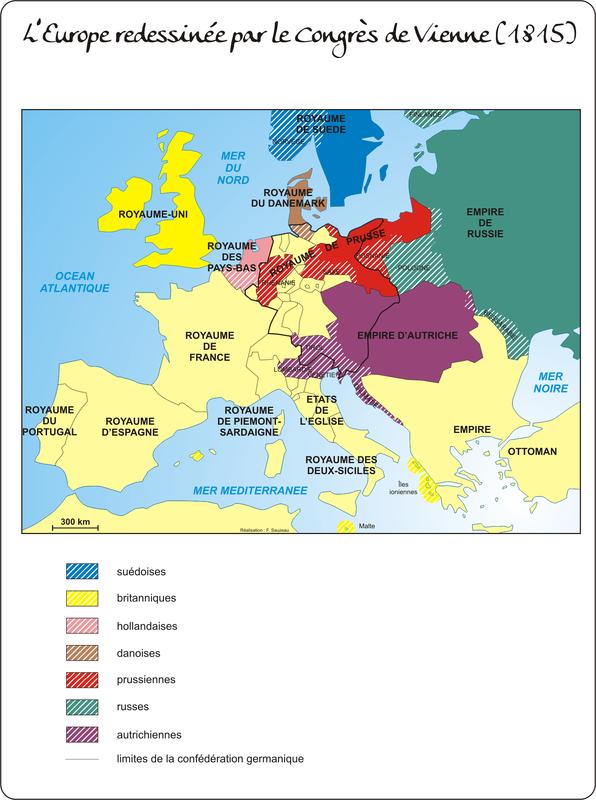 Europe 1815