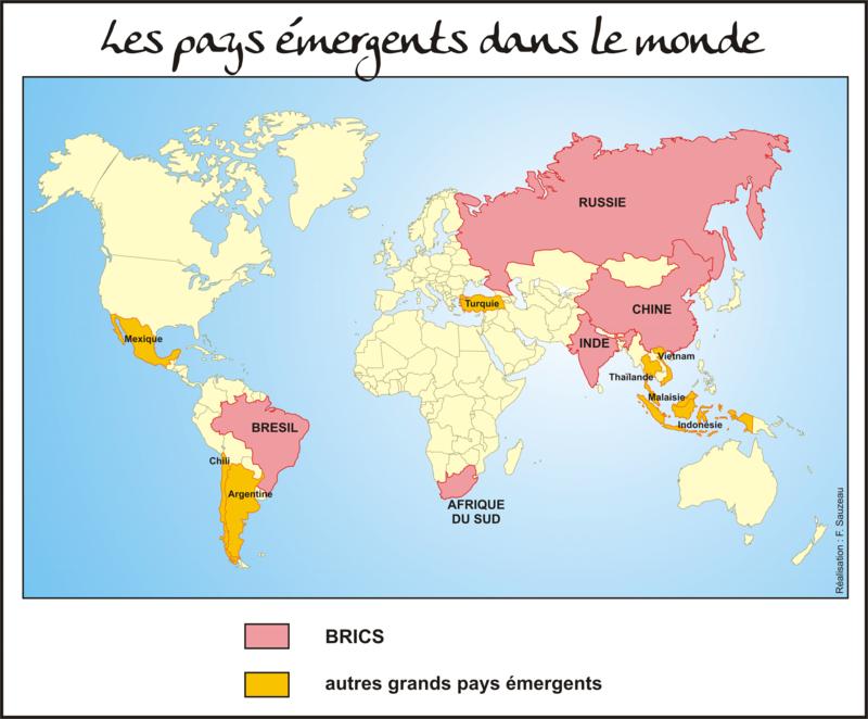 dissertation les pays émergents dans la mondialisation