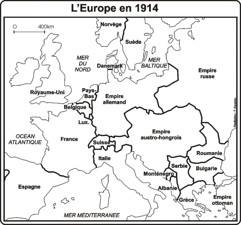 Carte De Leurope Vierge Pdf.Carte De L Europe En 1914 L Atelier D Hg Sempai