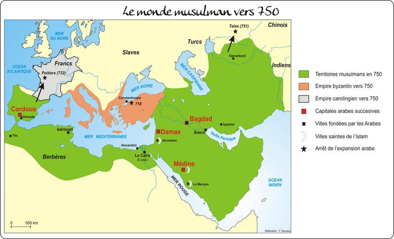 le monde musulman au moyen age