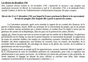 décret décembre 1792