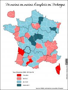Dordogne emploi