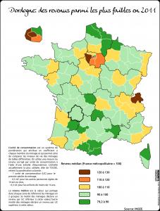 Dordogne revenus