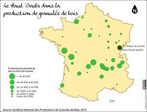Haut Doubs et production de granulés bois