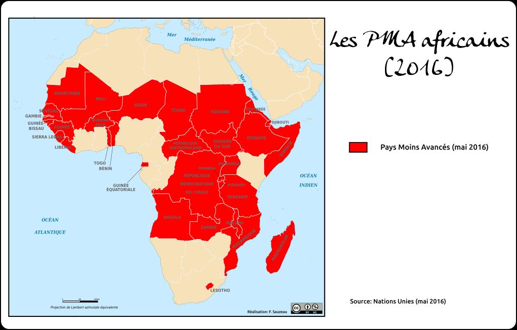 Carte Afrique Pma.Les Pma Africains L Atelier Carto D Hg Sempai