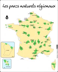 Les parcs naturels régionaux français
